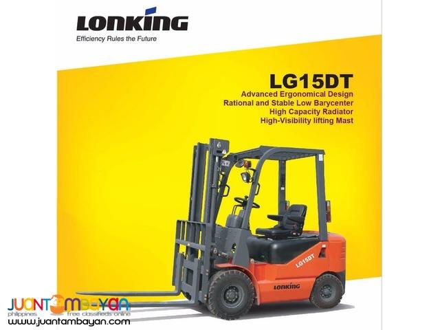 Diesel Forklift LG15DT Lonking 1500 kg