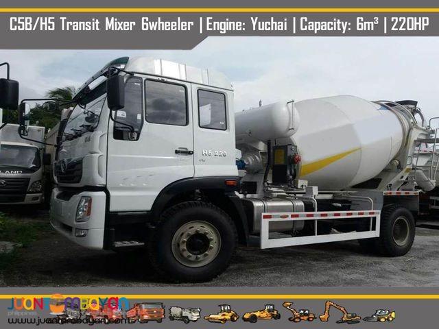 transit mixer ( euro 4) 6 wheeler - 4 cbm