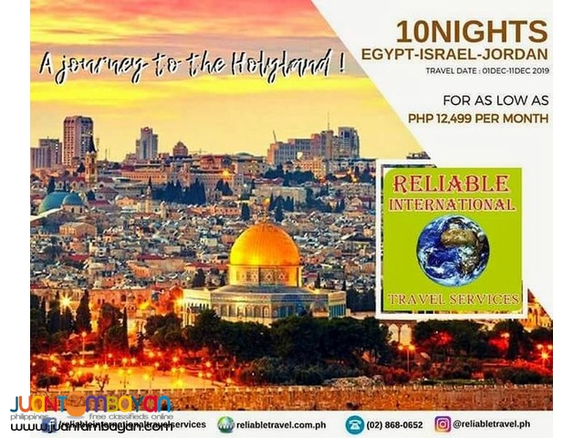 11 Days Egypt Israel Jordan Holyland Pilgrimage All in Tour