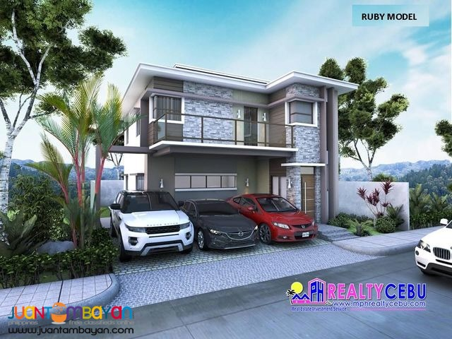 4BR House in Minglanilla Cebu (RUBY-Single Detached)