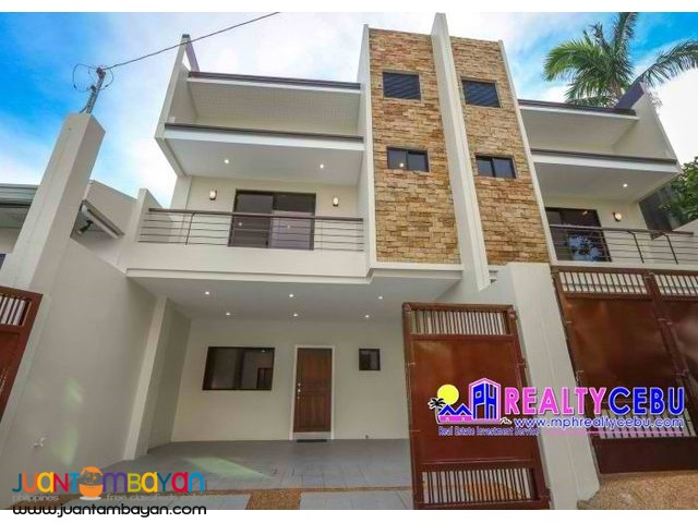 White Hills Subd. - 4BR Overlooking House in Guadalupe Cebu City