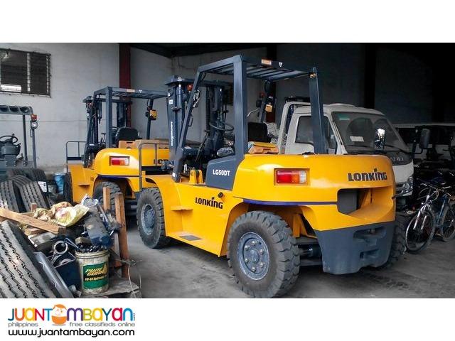 (LG50DT Diesel Forklift 5 tons)