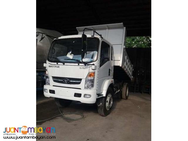 H3 Homan Dump truck 6.5cubic 6wheeler Sinotruk