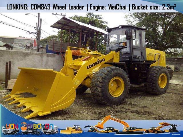 CDM843 Wheel Loader (Weichai Engine)