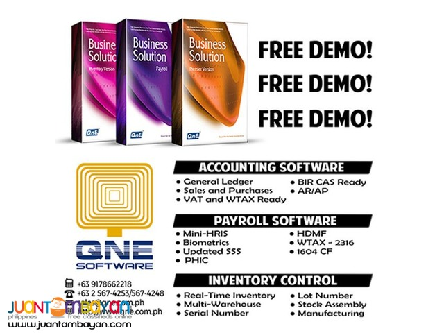 Quick And Easy To Use Accounting Software: QNE PH