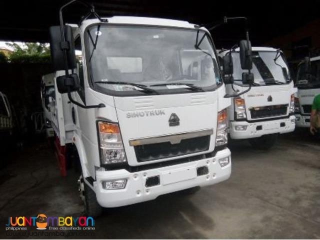 Homan Dump truck 4.5cubic 115HP Sinotruk 6wheeler