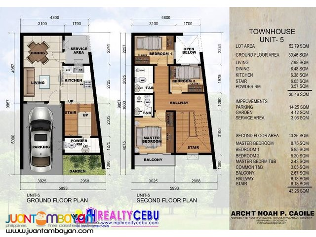 3 BR TOWNHOUSE FOR SALE AT LAHUG CEBU CITY