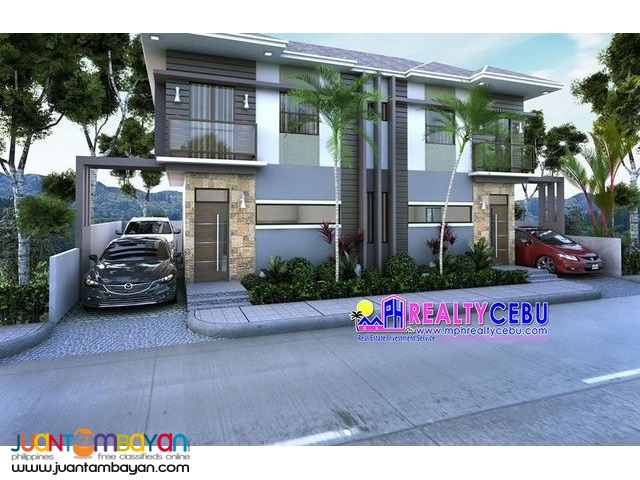 DIAMOND - MINGLANILLA HIGHLANDS 4 BR DUPLEX HOUSE FOR SALE