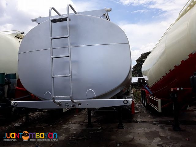 Tri-Axle 30KL Carbon Steel Fuel Traile