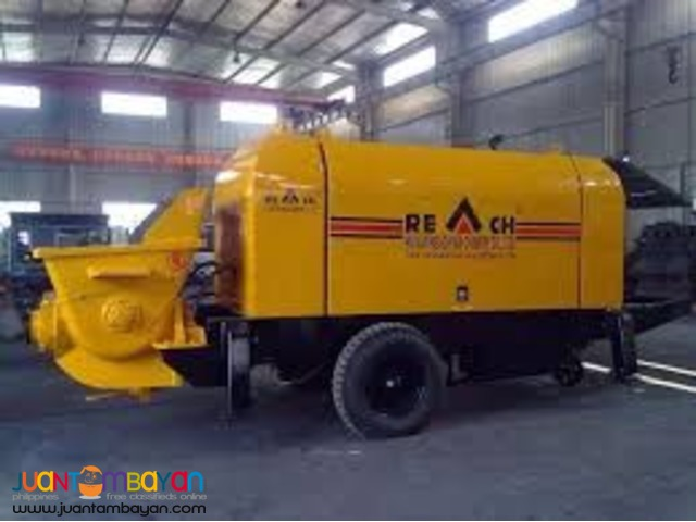 Portable Concrete Pump 60m3