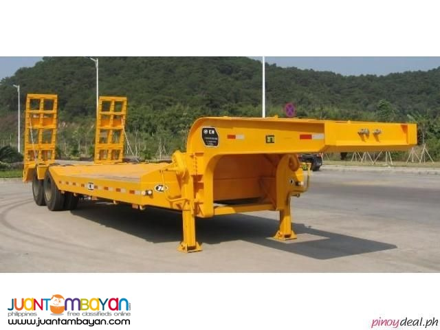 Two-Axle Lowbed Semi-Trailer 45Tons