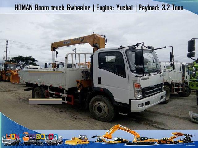 boom truck ( euro 4) 6 wheeler - 5 tons