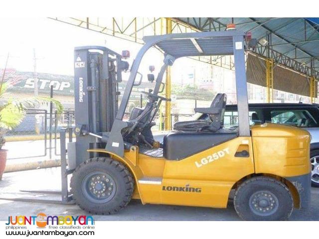 LG25DT Lonking Diesel Forklift 2.5Tons