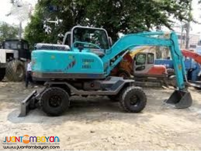 BACKHOE JINGGONG WHEEL TYPE KOMATSU PC60