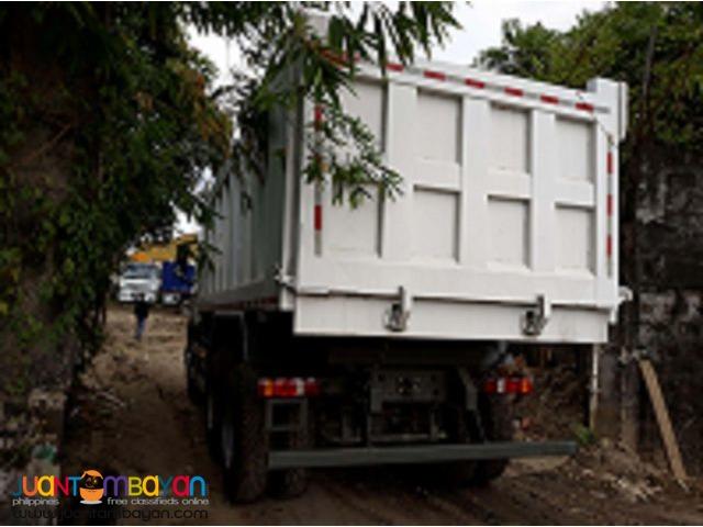 HOWO A7 Euro IV Dump Truck 20cubic Sinotruk 10wheeler