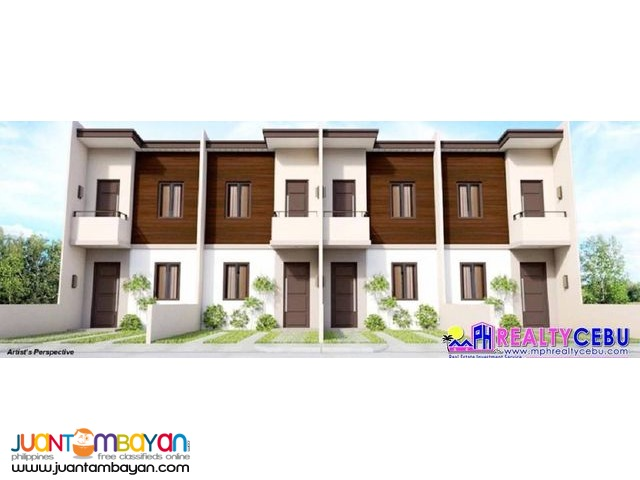 2BR 55m² Townhouse in Almond Drive Talisay City