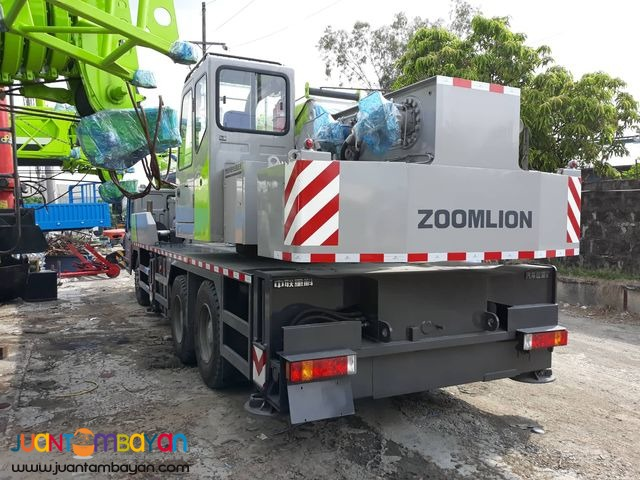 QY25V Zoomlion Mobile Crane 25tons Telescopic