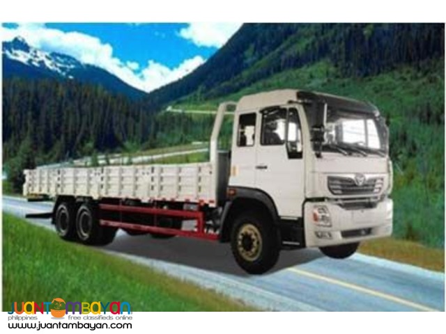 10 Wheeler Homan Cargo Dropside (30ft)