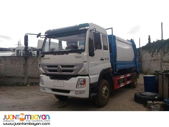 6 Wheeler Garbage Compactor, 5m³