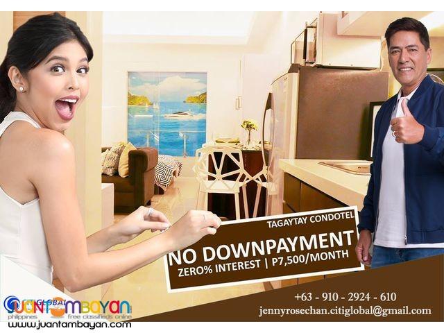 Pre selling Condo Hotel