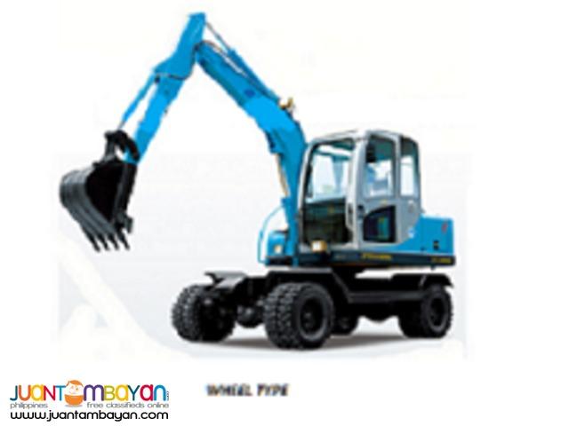 Jinggong Hydraulic Excavator Backhoe
