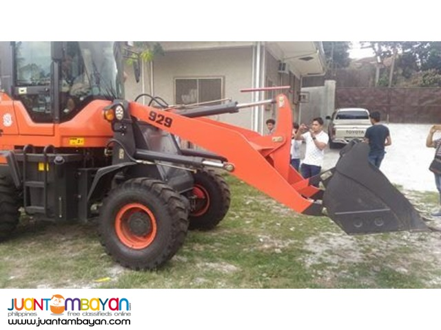 929 Wheel Loader 0.5 to 0.7 Bucket Capacity Brand New =)