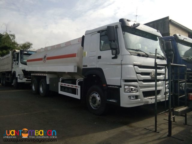 10 WHEELER HOWO-A7 FUEL TRUCK 20KL Brand New