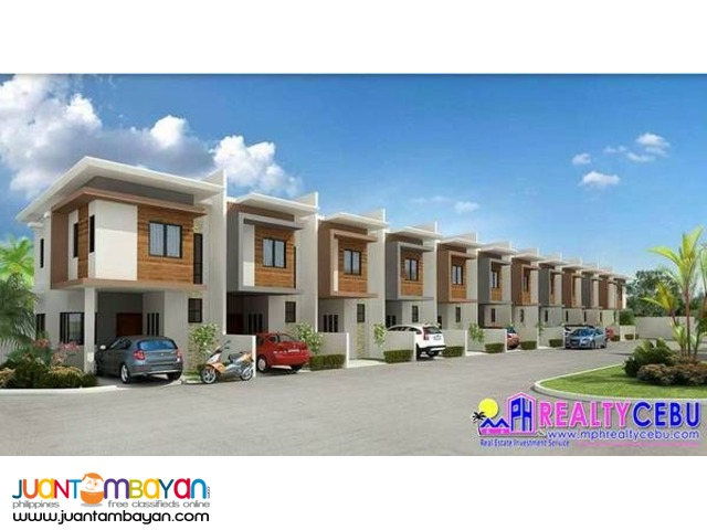 84m² 3BR Townhouse at Sunhera Residences Talamban Cebu