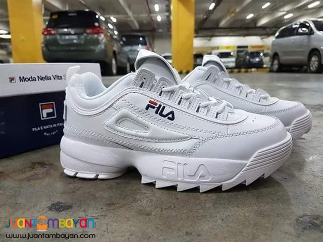 31fb0a99e5f9 Fila Disruptor II RUBBER SHOES - COUPLE SHOES