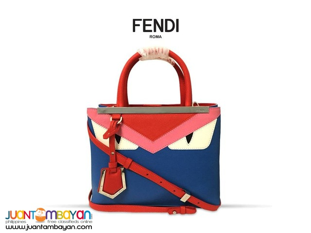 78a663addeb Fendi Demi Jour Monster Bag - FENDI SHOULDER BAG     CATHY GO