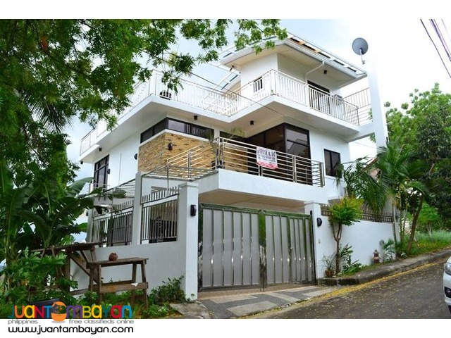 Fully Furnished House and Lot For Sale in Pardo Cebu City