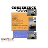 Conference and Meeting Rooms for Rent in Mandaluyong City