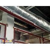Exhaust blower and Ducting Installation