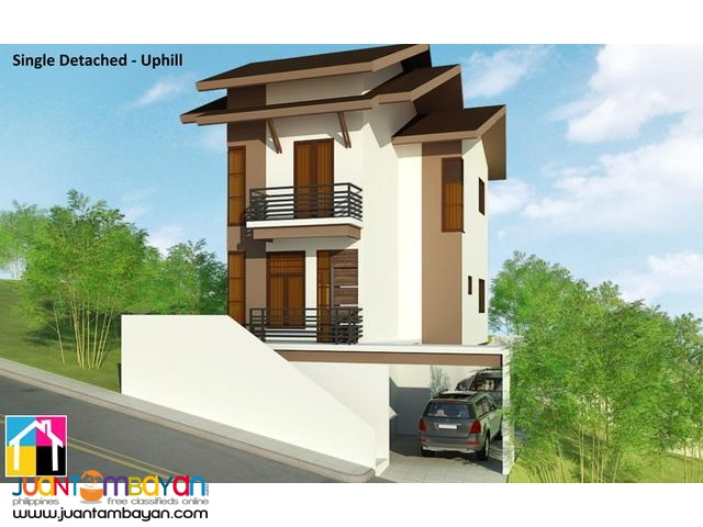 Modern House With Overlooking View For Sale Near Sm Lacion Cebu