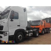 10 Wheeler Tractor Head HOWO A7 420HP Euro 4 Sinotruk