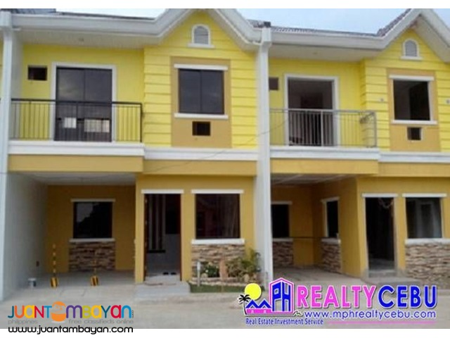 4BR Townhouse at South City Homes Subd. Tabunoc Talisay City