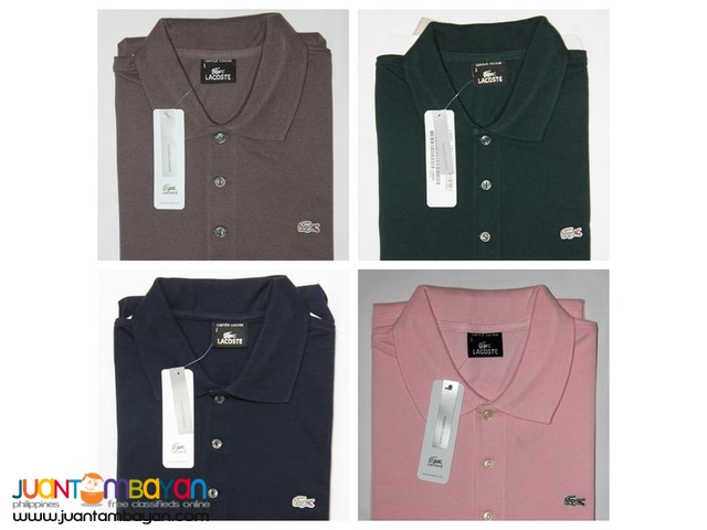 AUTHENTIC LACOSTE SILVER EDITION - LACOSTE POLO SHIRT FOR MEN