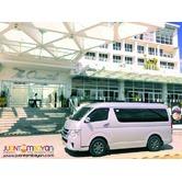 Van for Rent sa Legazpi Albay