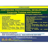 Continuing Professional Development Seminars