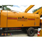 Portable Concrete Pump 60cubic