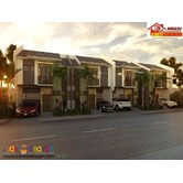 EMERALD ( TOWNHOUSE) MODEL UNIT @ MINGLANILLA HIGHLANDS