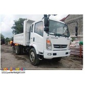 6 Wheel Mini Dump Truck 6m³ 4x4 drive, 130HP