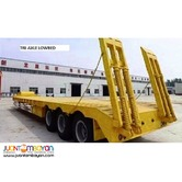 Lowbed Semi Trailer Two-Axle 45tons