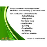 System for  Travel and Tours, Ticketing, Bills Pay,Hotel Booking.