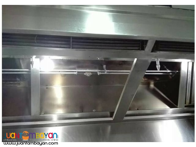 Kitchen Hood and Ventilation