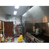 Hot Kitchen Exhaust and fresh air system
