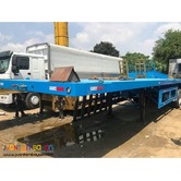 BRAND NEW! 40ft Tri-Axle Flatbed Semi-Trailer