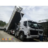 Brand New! Sinotruk Howo A7 8x4 Dump Truck LHD 12Wheeler