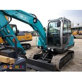 backhoe . 25 cbm jingong 608 ( chain  type )