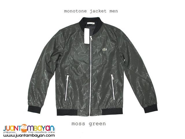 0254798a5 Authentic Lacoste JACKET - LACOSTE MONOTONE JACKET